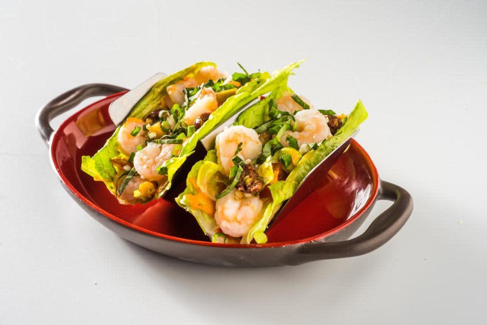 Fresh Shrimp Lettuce Wrap at ZEA Restaurant