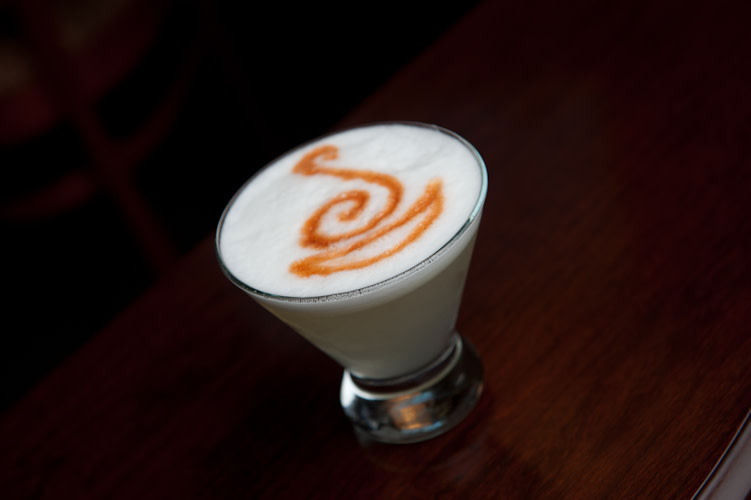Pisco Sour at Miu Miu Bistro & Bar