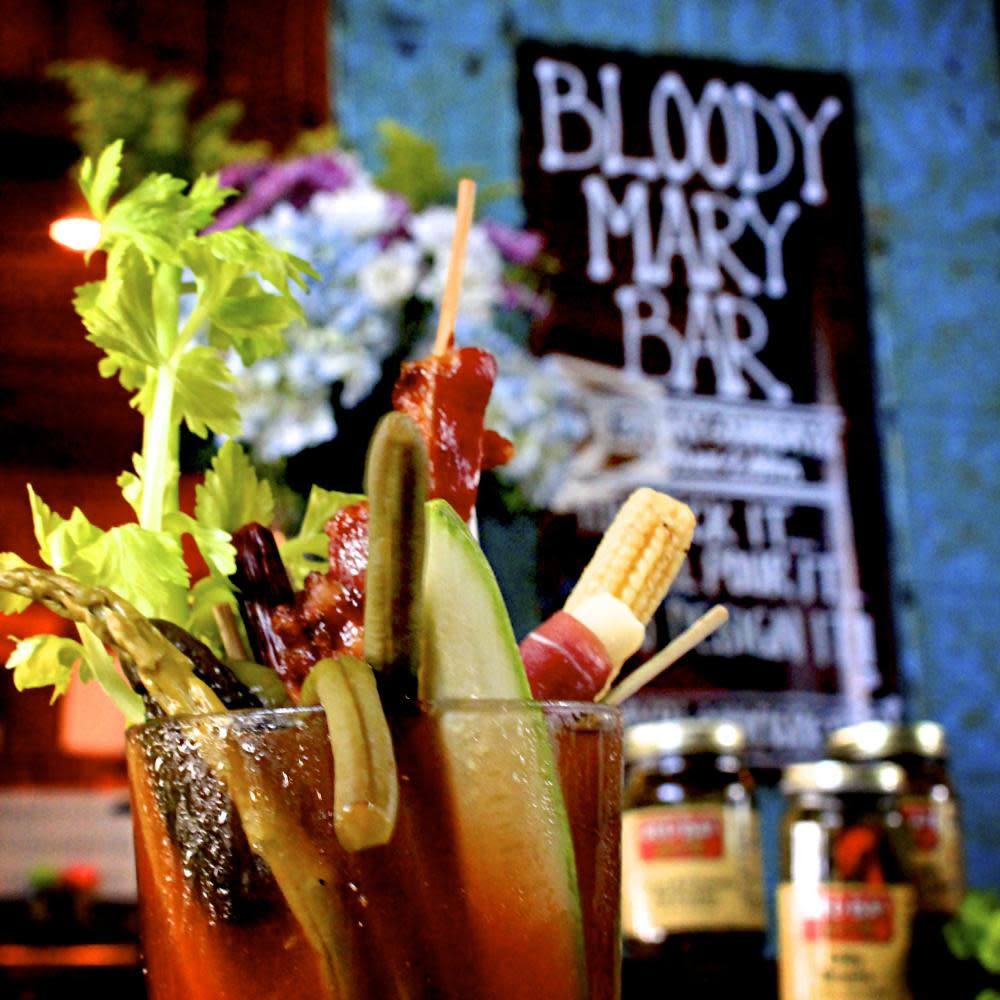 A well made Bloody Mary. at Harbor Docks