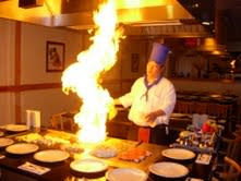 Hibachi Fire at Sushi House Inc