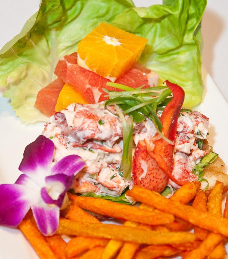 New England Lobster Roll at Cafe L'Europe