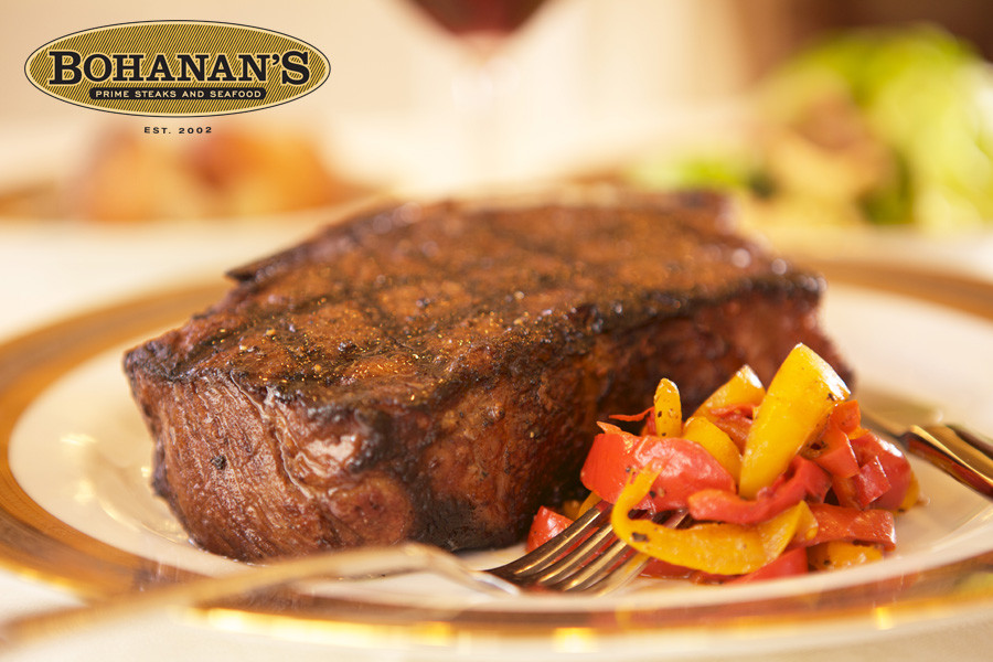 Ribeye Steak at Bohanan's