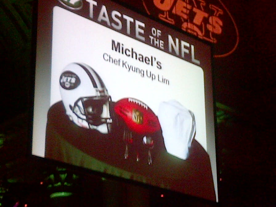 Taste of the NFL 5.31.12 at Michael's Restaurant