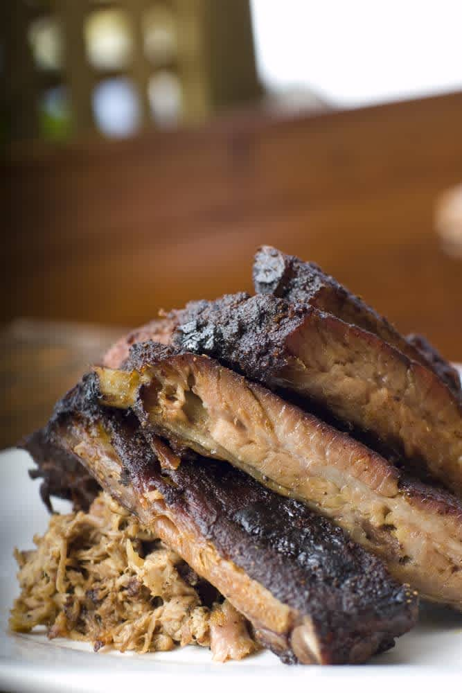 Fiery Rons Home Team BBQ Menu Reviews Middle St Sullivans