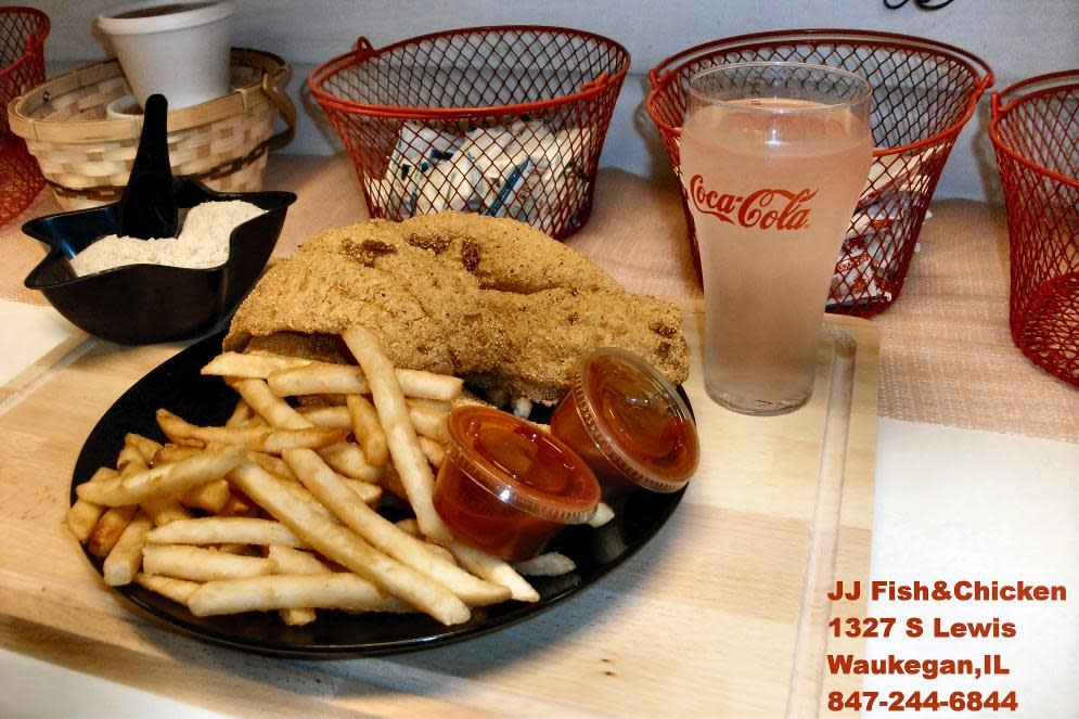 J j fish order online menu reviews 1327 s lewis for Jj fish chicken dallas tx