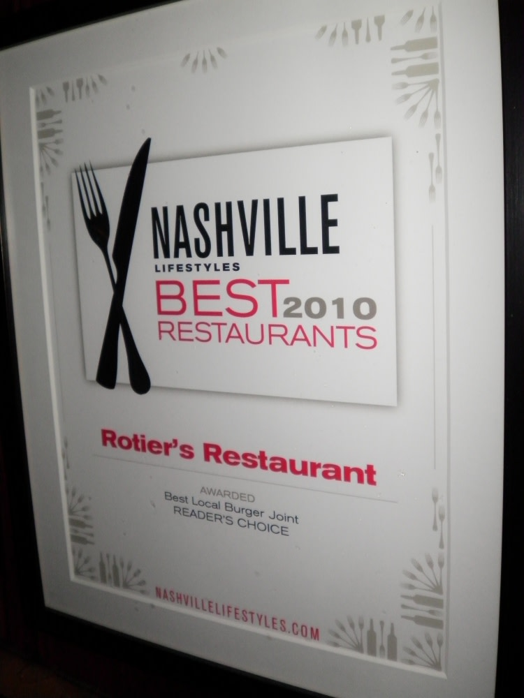 Best of Nashville at Rotier's