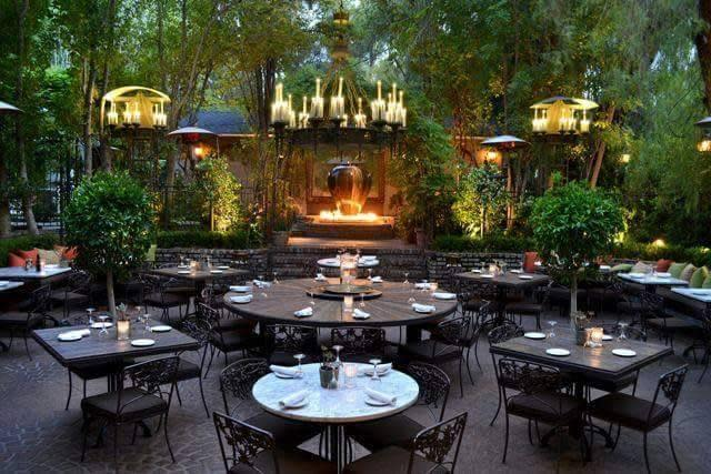 Best Patio Dining at Villa Piacere