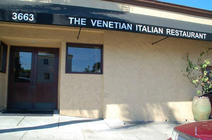 Venetian Italian Restaurant Point Loma