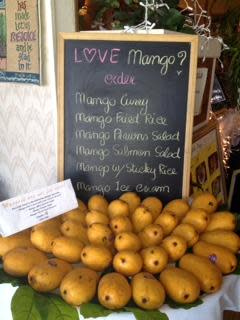 Mango Specials at Thai Hut