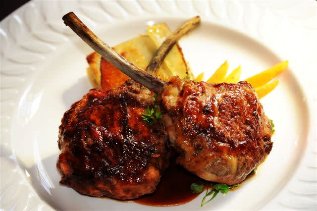 Lamb Chops at Briarhurst Manor