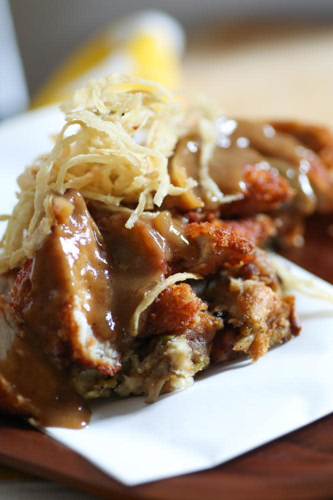 Boneless Deep Fried Pork Chops