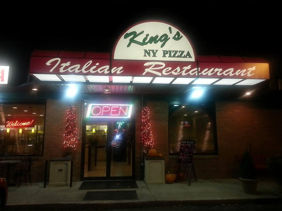 King's New York Pizza - Menu & Reviews - 313 Rock Cliff Dr ...