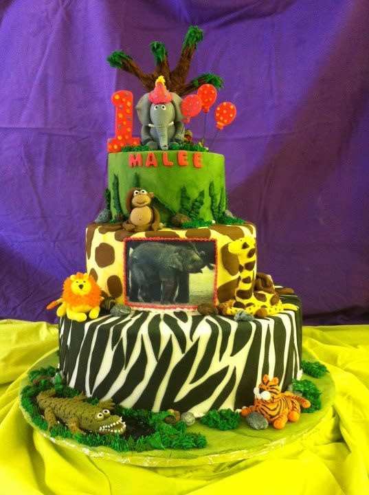 Zoo Cake  at Ingrid's Kitchen