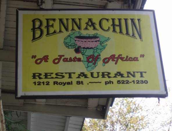 Bennachin at Bennachin Restaurant