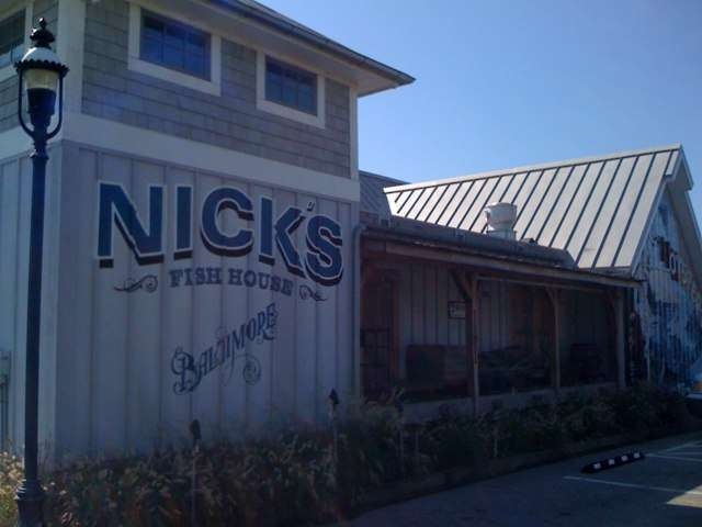 Nicks fish house baltimore md 21230 menus and reviews for Nick s fish house menu