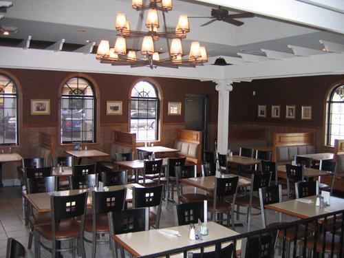 interior at Paisano's Restaurant