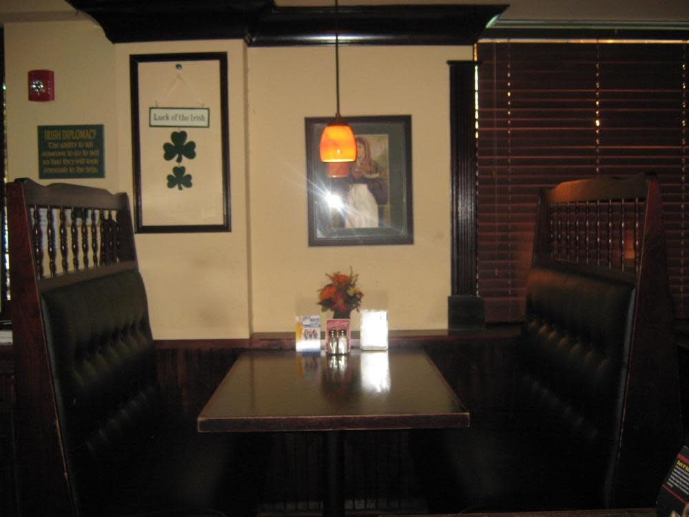 Booth 1 - come grab a seat!! at Irish Bred Pub