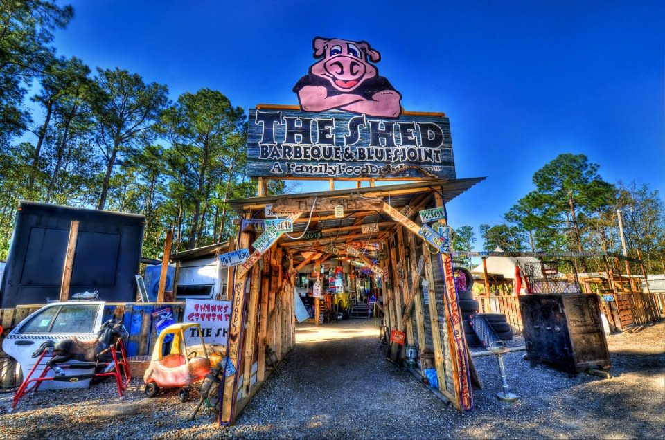 Shed Barbeque, Ocean Springs, MS 39565 - Menus and Reviews