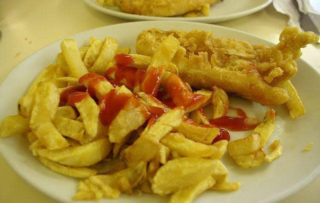Pete 39 s fish chips menu reviews tempe 85281 for Petes fish and chips