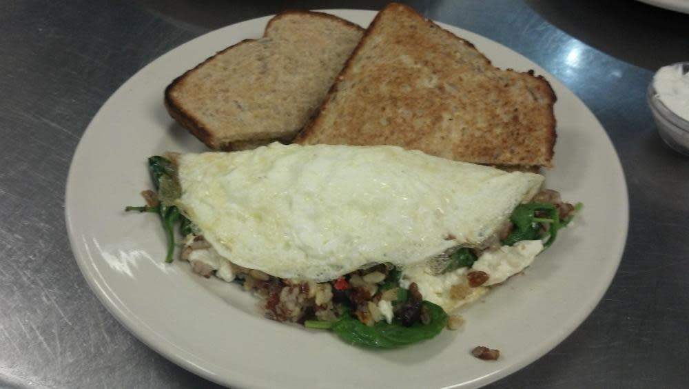 Fire Roasted Egg White Omelet at Samantha's Restaurant