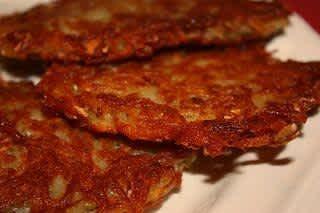Our Potato Pancakes