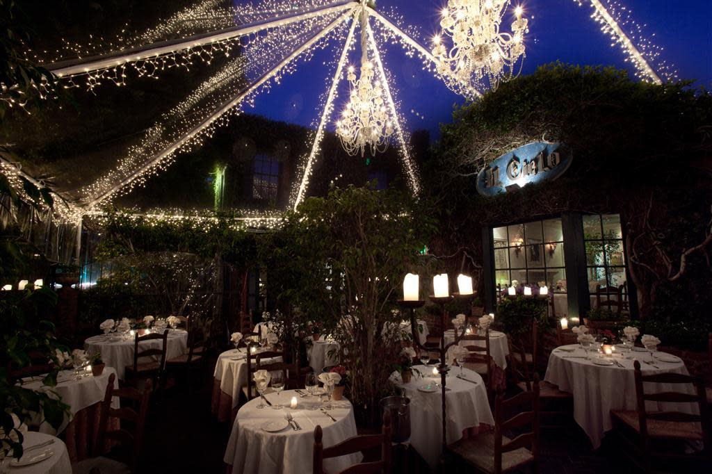 Il cielo order online menu reviews mid city west for Romantic restaurant san jose