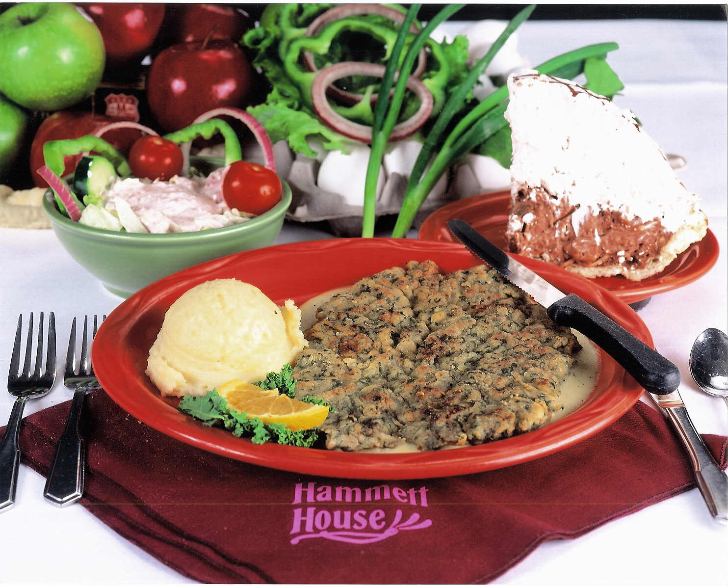 Country Fried Steak at Hammett House Restaurant
