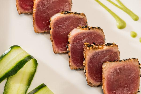 Seared Tuna Appetizer at The Fish House