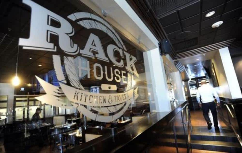 Bar at RackHouse Tavern