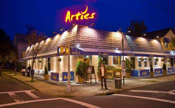 Artie s steak seafood menu reviews city island