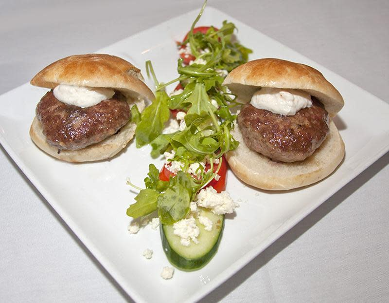 Cumin Lamb Sliders at Cafe L'Europe