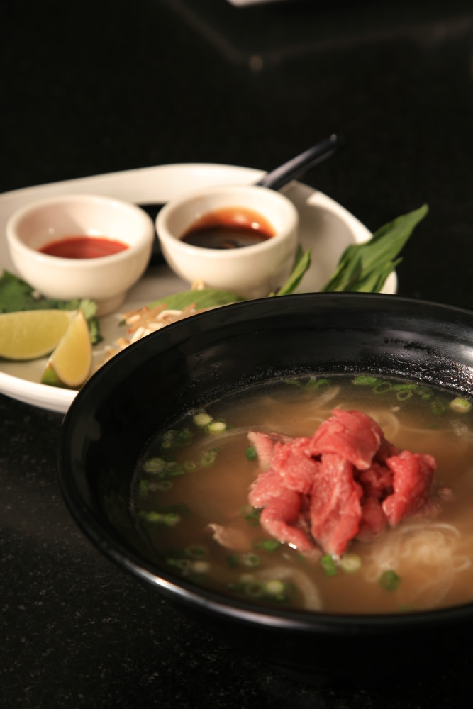 Pho soup for Asian cuisine tulsa