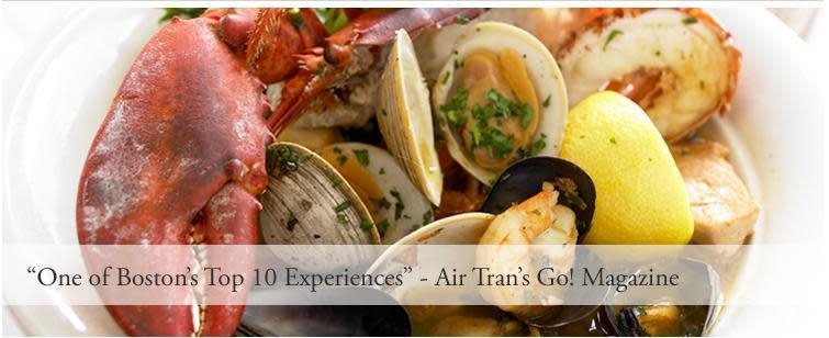 Atlantic fish co menu reviews back bay boston 02116 for Atlantic fish menu