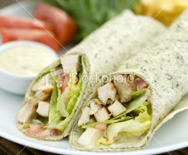 Try one of our delicious wraps and sandwiches today!