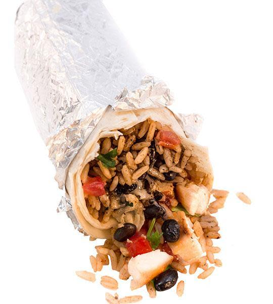 Our signature Ranchero Burrito created to your liking with grilled chicken or ground beef, stuffed full with all your favorite toppings and sauces. Lightly grilled for extra flavor. Available with Ranchero, Mini, Lil' Ranchero and Veggie options.