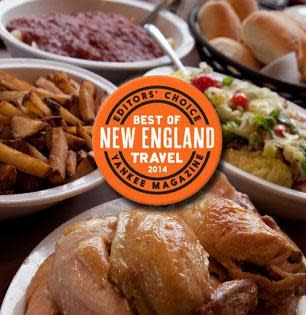 "Wright's Farm Restaurant & Banquet Facility, Named 2014 ""Best of New England-Editors' Choice"" Winner by Yankee Magazine at Wright's Farm Restaurant"