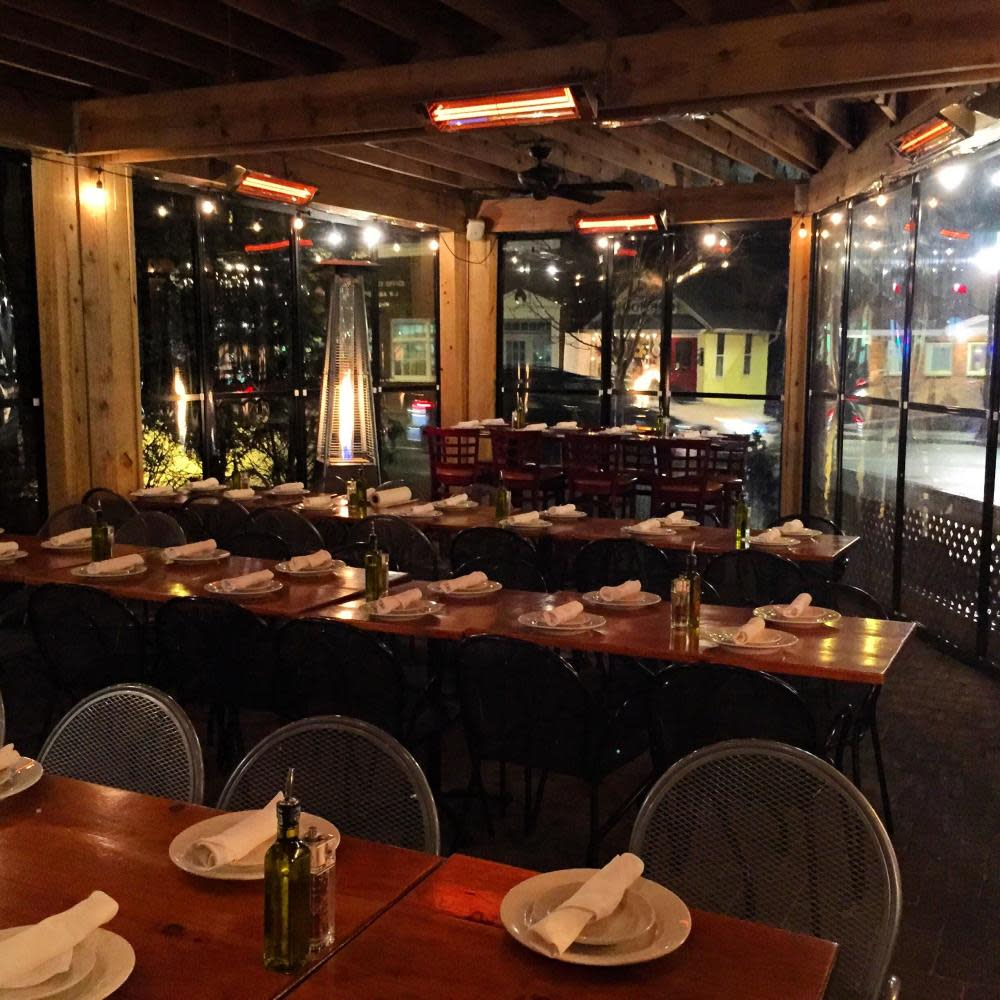 Please visit www.frankanthonys.com to check out our in-house private party menu offerings. Our private patio is a perfect place to celebrate any and all events!!