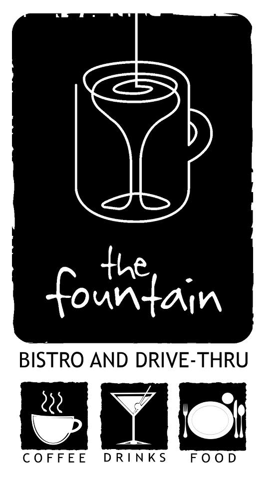 the fountain at The Fountain Bistro & Drive-thru