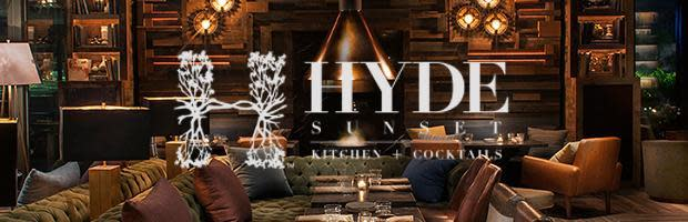Image result for hyde sunset