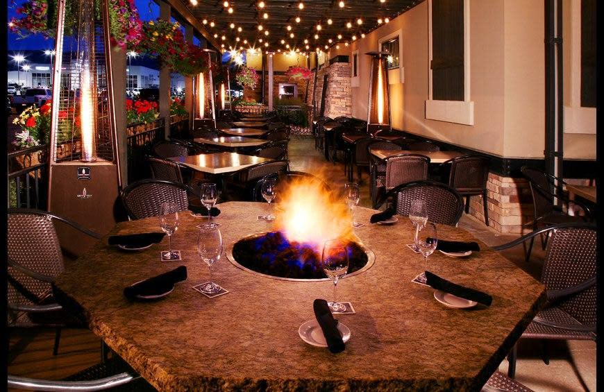 Fire rock steakhouse casper wy 82609 menus and reviews for Firerock fireplace prices