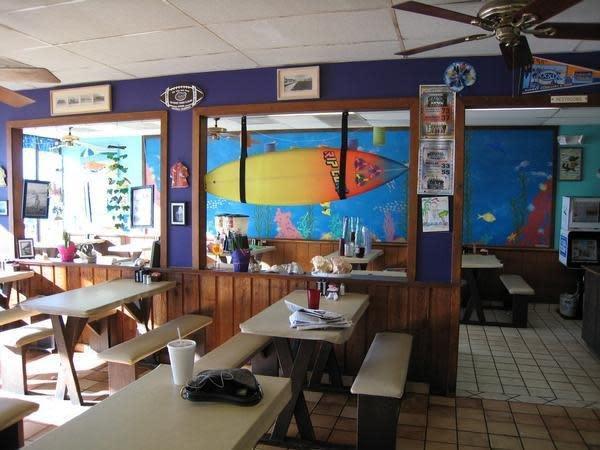Beach Hut Cafe Menu Jacksonville Beach Fl