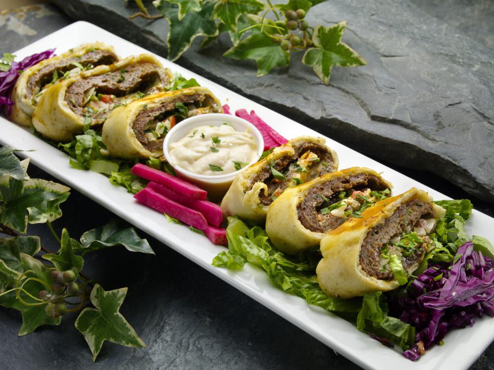 Lavash Wrap Appetizer
