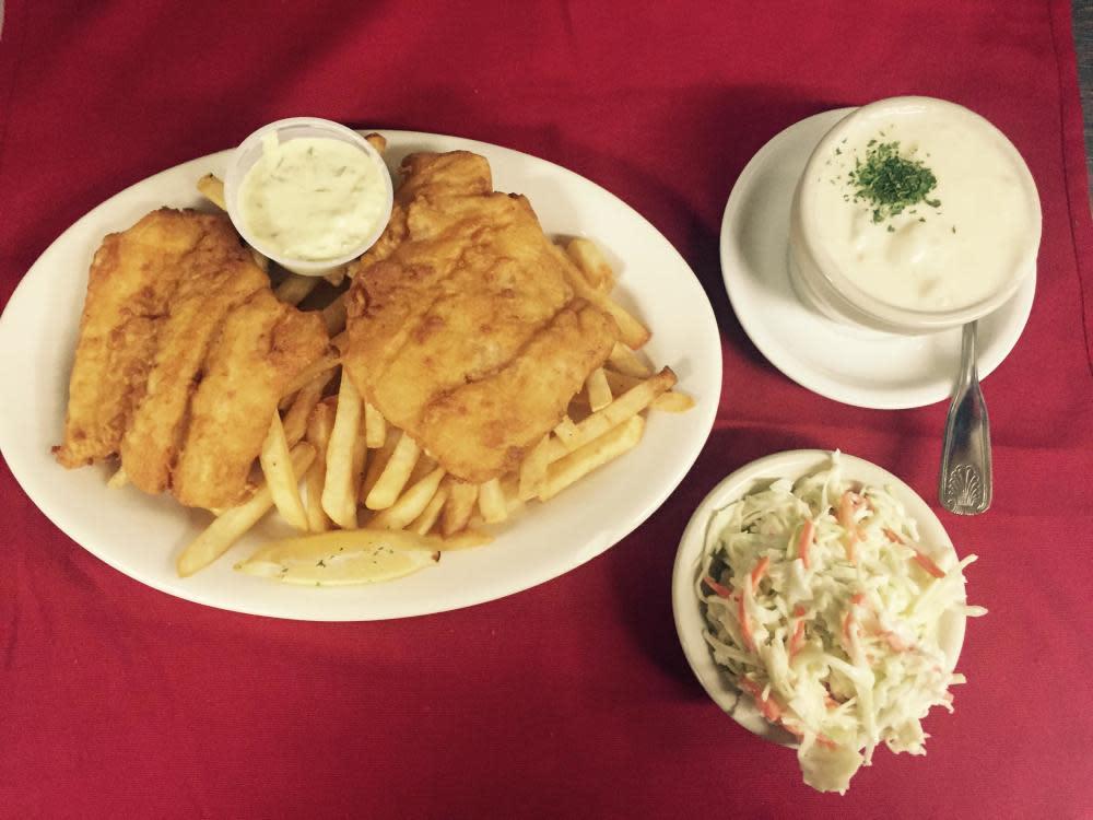 Fish Chips & Chowder
