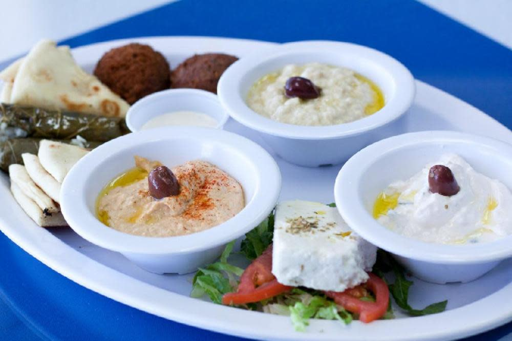 Photo at Zino's Greek & Mediterranean Cuisine