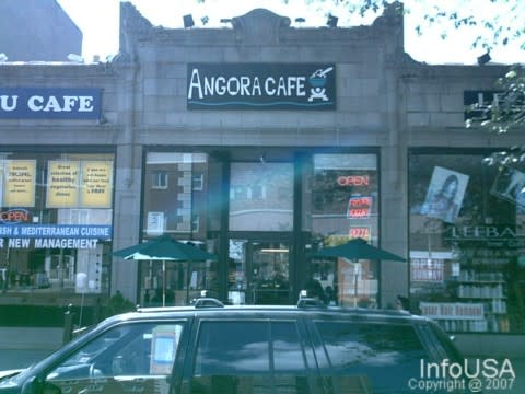 Angora Cafe Boston Hours