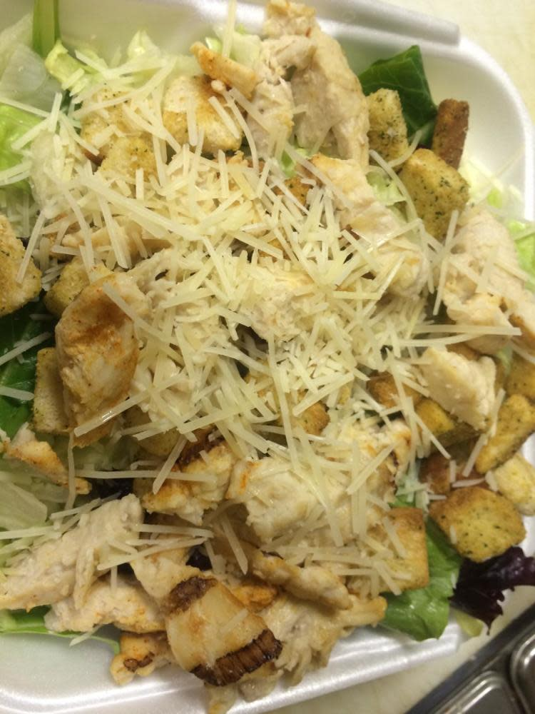 Add Chicken to our classic Caesar or Greek salads!