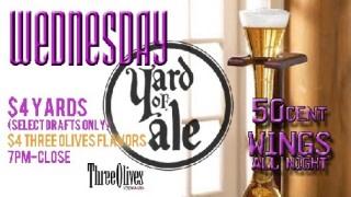 Wednesday Yard Sale