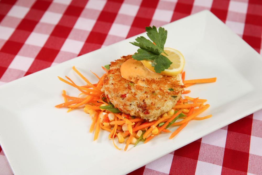 Fresh Jumbo Lump Crab Cake Photo