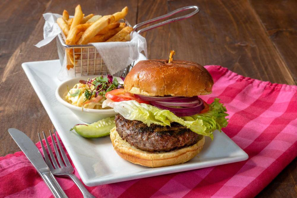 Hamburger Platter Photo