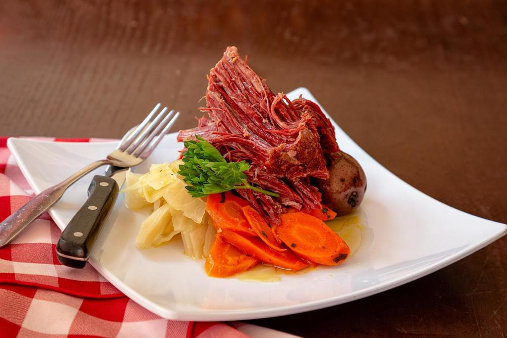 New England Corned Beef & Cabbage Photo